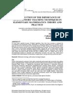 Multisensori Math