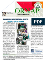ORNAP-NMC Newsletter (Vol. I Issue 2) - 2011