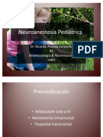 Neuroanestesia Pediátrica