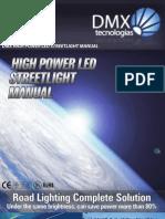DMX High Power LED Streetlight User Manual