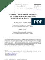 Adaptive Graph Pattern Matching