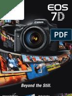 Canon EOS 7D Brochure
