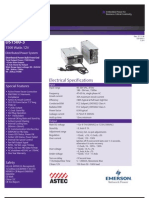 Astec Ds1500!3!001 Datasheet