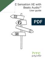 HTC Sensation XE Manual
