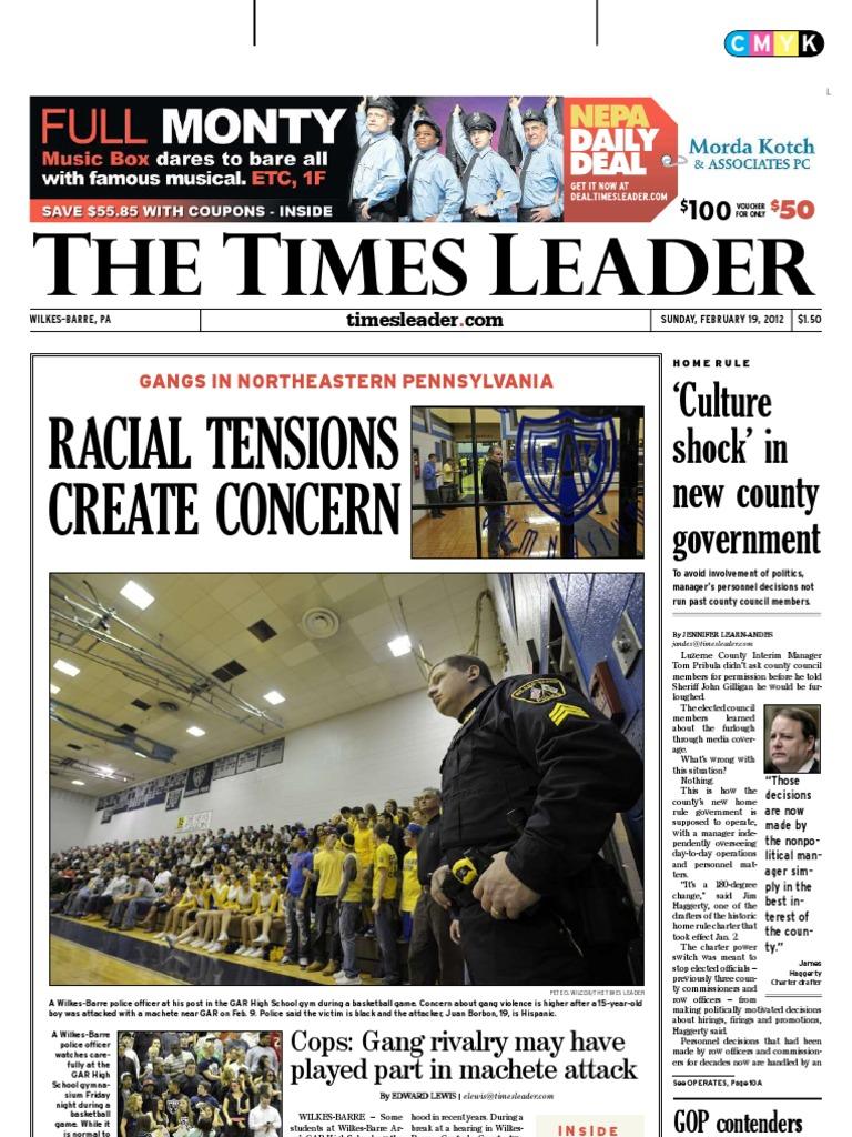 Times Leader 02 19 2012 Copyright Infringement
