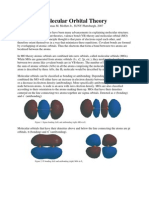 Thomas M. Moffett Jr- Molecular Orbital Theory
