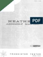 Heathkit Im30 Transistor-tester Sm
