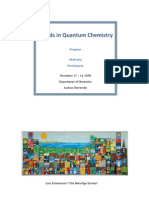 Trends in Quantum Chemistry