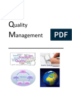 Total Quality Management (Report)