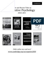 Sternberg Cognitive Psychology 2010-2011