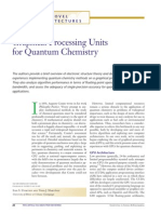 Ivan S. Ufimtsev and Todd J. Martínez- Graphical Processing Units for Quantum Chemistry