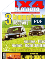 Comparativa Nissan Patrol Gr y Land Rover Discovery