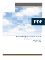 Maintaining Healthy IT Assets