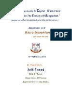 Macro Economics.anik Ahmed