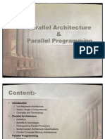 Parallel Architecture Programming