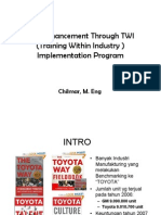 Training Within Industry (TWI) dan implementasinya