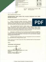 Surat Siaran Pengkalan Data Murid