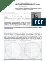 Comparativa de las áreas observadas con fotografía y manual