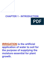 Irrigation Chapter 1