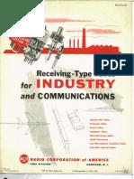 1958 RCA Recieving Tubes Catalog