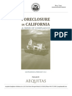 Aequitas San Francisco Foreclosure Report - Final
