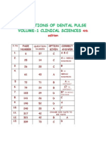 Corrections of the Dental Pulse Volume-2 Clinical Sciences 4th Edition