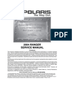 Polaris Atv Service Manual 1996 1998 All Models Suspension