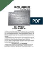 Polaris Atv 2007 Sportsman 450 500 X2 Efi Repair Manual