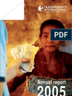 338214 Transparency International Annual Report 2005