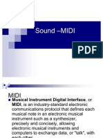 Sound Midi