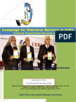 Proportionate Electoral System Policy