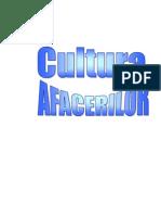 Cultura Afacerilor Covas Lilia