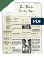 Newsletter Volume 3 Issue 45