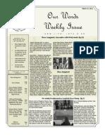 Newsletter Volume 3 Issue 50