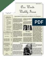 Newsletter Volume 3 Issue 52
