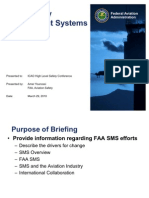 Faa Sms Briefing to Icao Hscl 2010 v21