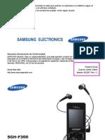 Manual de Usuario SGH-F300