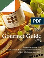Gourmet Guide 2011