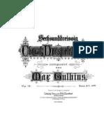 Gulbins Max 36 Choral Preludes Op.16. Monochrome