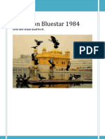Operation Bluestar 1984