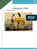 Operation Bluestar 1984
