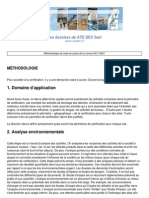 Methodologie de Mise en Place de La Norme ISO 14001