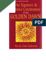 2Equinox and Solstice Golden Dawn Rituals