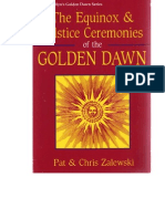 2Equinox and Solstice Golden Dawn Rituals