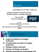 Overview of Refugee Protection - Colleen Print