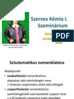 KZ Szerves szeminárium 2
