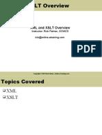 XML Xslt Overview
