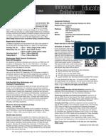 ICE  2012 General Info Sheet