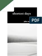 shortest days