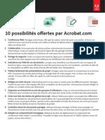 10 Fonctions Sympa Disponibles Avec Acrobat